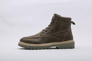 Jakość Dr oryginalne skórzane buty męskie buty Martin buty buty motocyklowe jesienne buty zimowe kochanek śniegowe buty tanie i dobre opinie Dla dorosłych Niska (1 cm-3 cm) RUBBER Pasek stawu skokowego Cotton Fabric Zima Pasuje mniejszy niż zwykle proszę sprawdzić ten sklep jest dobór informacji