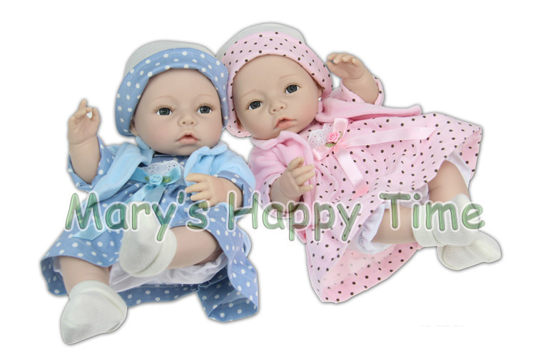 40cm Handmade Silicone Reborn Baby Dolls Kids Gift Baby Reborn Brinquedos Toy Doll Boy and Girl Baby Doll handmade chinese ancient doll tang beauty princess pingyang 1 6 bjd dolls 12 jointed doll toy for girl christmas gift brinquedo