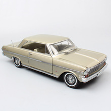kids 1:18 Scale big vintage Sunstar 1963 Chevrolet Chevy II Nova coupe Diecasts & Toy Vehicles model cars toys for collection