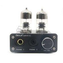 Наушники HIFI Ламповый усилитель Предусилителя USB Звуковой Чип Усилитель Мощности 7022 ZHILAI D1