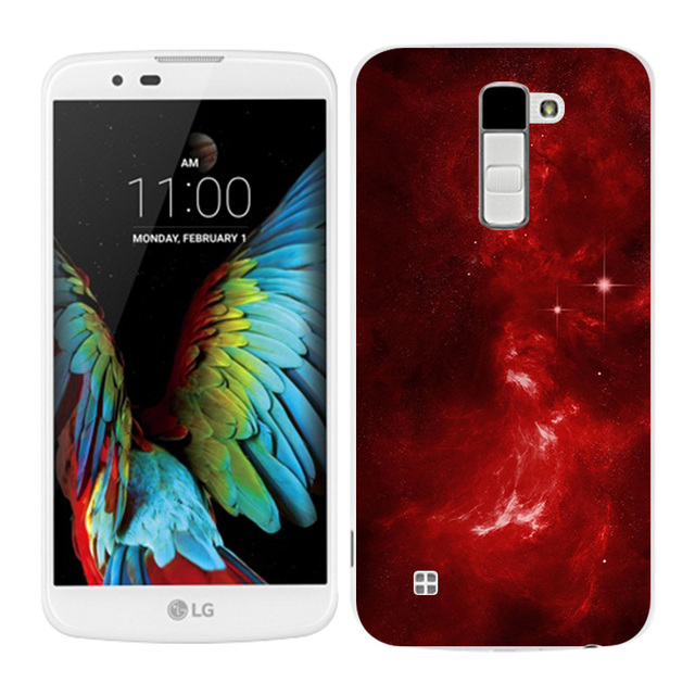 Cases for LG K10 Cases Sleeping Painted Phone Back Cover Fundas Silicone For K10 Lte K 10 M2 K410 K420N K430DS F670 Coque