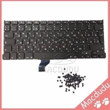 "Nueva RU Ruso Teclado Teclado + tornillos Para MacBook Pro Retina 13 ""A1502 2013 ME864LL/A ME866LL/A * Proveedor Verificado *"