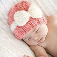 Newborn Baby Girl Boy Infant Toddler Knitting Wool Crochet Hat Soft Hat Cap(China)