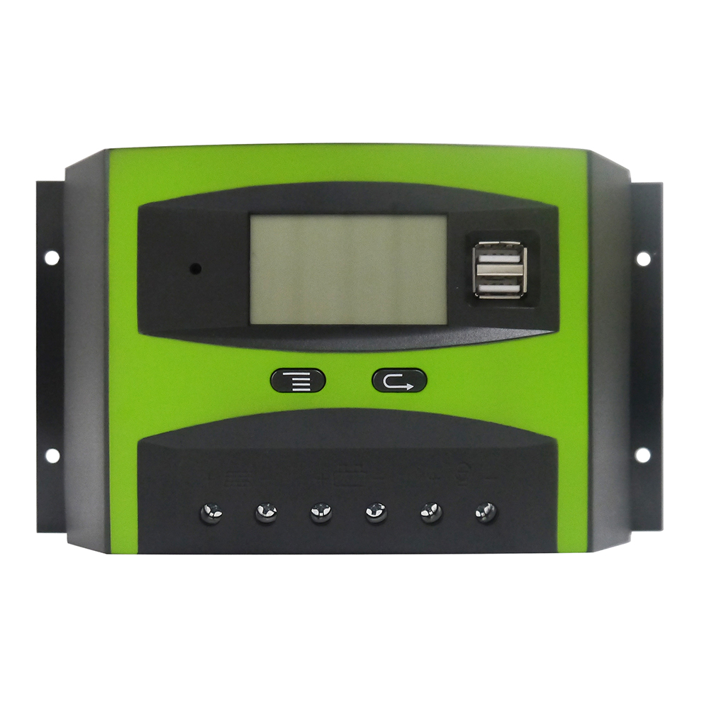 MAYLAR 30A PWM Solar Charge Controller 12V 24V Auto 48V Solar PV Battery Regulator with LCD Display 30a 12v 24v 36v 48v auto pwm solar charge controller lcd display with mt50 meter connect solar panels battery for solar system page 3