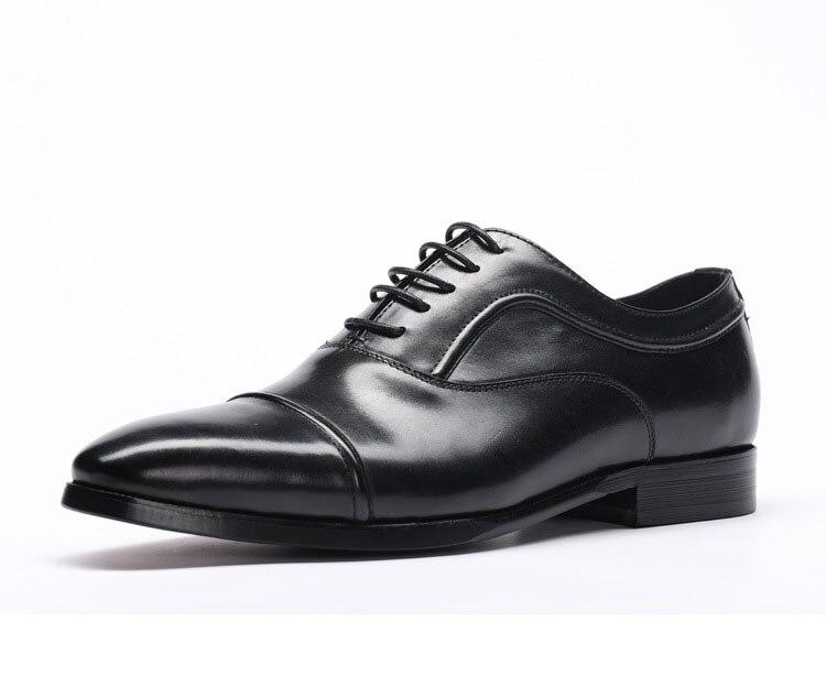 2ed82ff0 Alta Negro Rojo vino Calidad Para La Qyfcioufu Negocios Genuino Zapato  Zapatos Hombre Negro Marca De Tinto Vino Velo Italiano Cuero Diseñador Moda  x7FnZRq