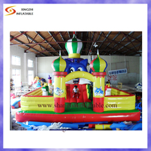 Good quality funny carton bounce house inflatable playground for kids entertainment