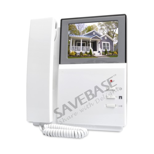 HOMSECUR 4,3 ЖК-дисплей видео дверной звонок безопасности, домофон с ИК Камера для 10 семей