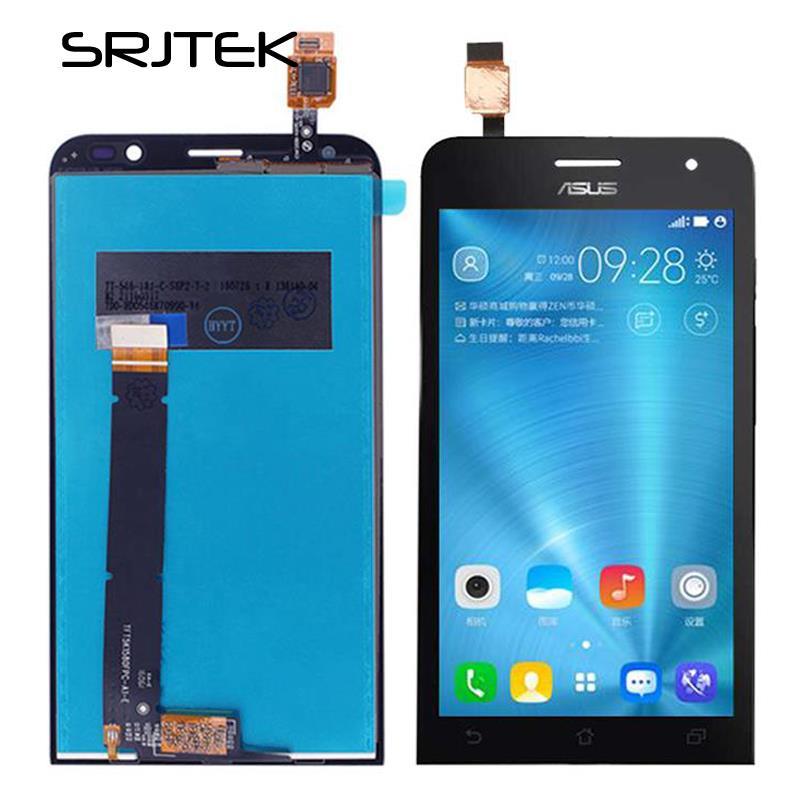 Srjtek screen For Asus ZenFone Go TV TD-LTE ZB551KL X013D X013DB <font><b>LCD</b></font> Display Touch Digitizer Glass Assembly 5.5inch 1280*720