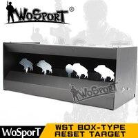WoSporT Box type Сброс для охоты манок связь Металл Spinner страйкбол стрельба открытый закрытый прочный безвредный стальной стрельба из лука