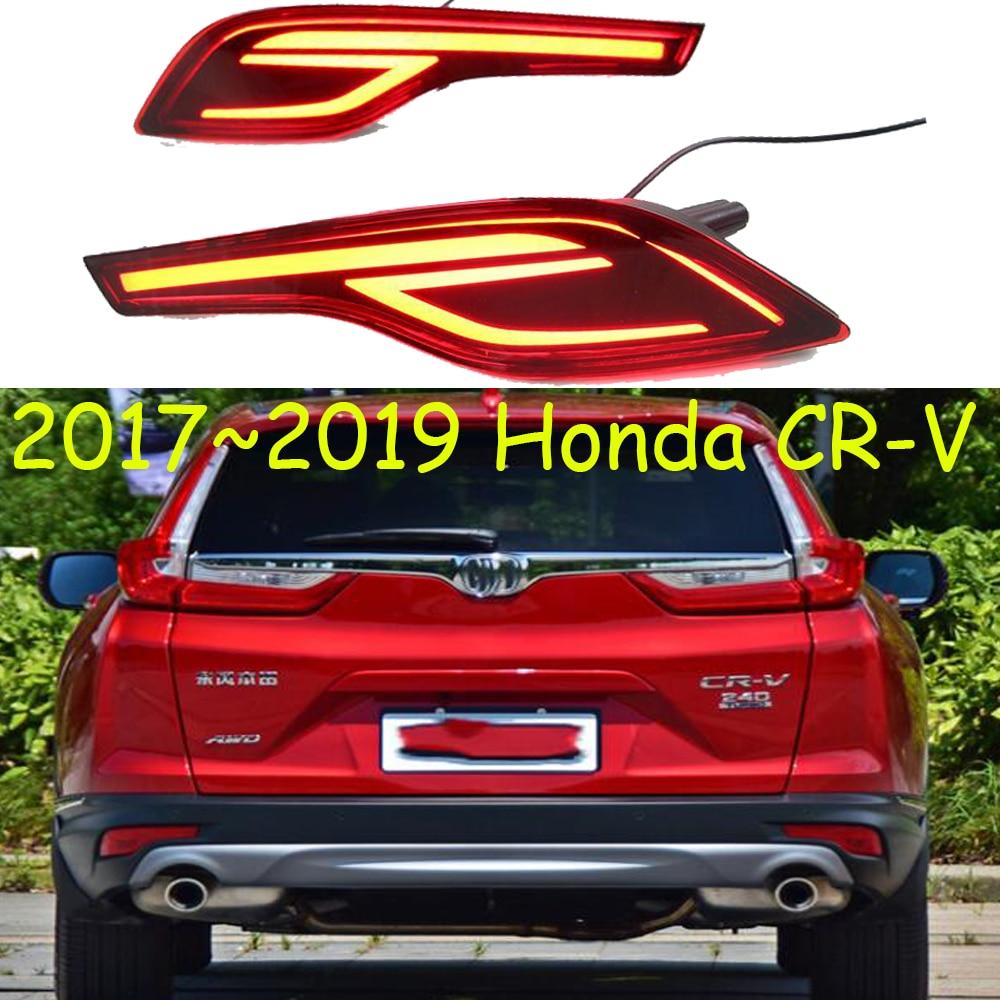 For Honda CR-V CRV 2017 2018 Stainless Rear Roof Brake Light Lamp Trim Cover