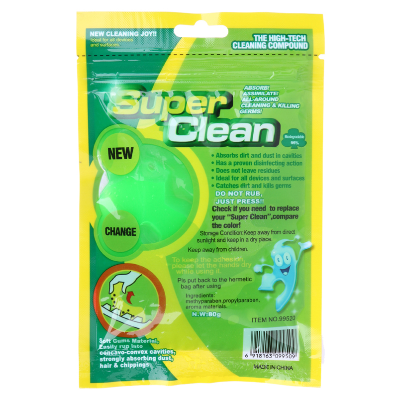 Brand New Practical Magic Innovative Super Dust Clean High Tech Cleaning Compound Slimy Gel For Cyber Computer Hot Selling 18