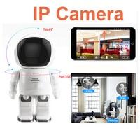 Robot IP Camera HD WIFI Baby Monitor 960P 1.3MP CMOS Wireless CCTV P2P Audio Security Cam Remote Home Monitoring IR Night Vision