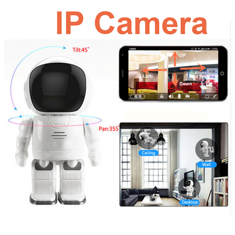 Robot IP Camera HD WIFI Baby Monitor 960P 1.3MP CMOS Wireless CCTV P2P Audio Security Cam Remote Home Monitoring IR Night Vision wifi ip camera 960p hd ptz wireless security network surveillance camera wifi p2p ir night vision 2 way audio baby monitor onvif
