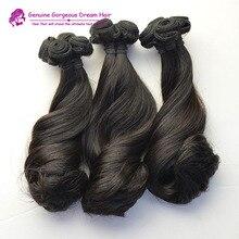 Gorgeous Top 8A Virgin Brazilian Hair Aunty Funmi Hair,Funmi Magical Curly Weave,Double Drawn Hair 1pcs/ lot