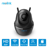 Reolink IP Camera WiFi Mini PTZ HD 4MP Baby Monitor 3x Optical Zoom Autofocus Pan Tilt