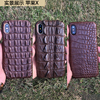 For IphoneX Natural Crocodile Skin Head Tail Abdomen Back Genuine Leather Back Cover Luxury Wholesale Phone