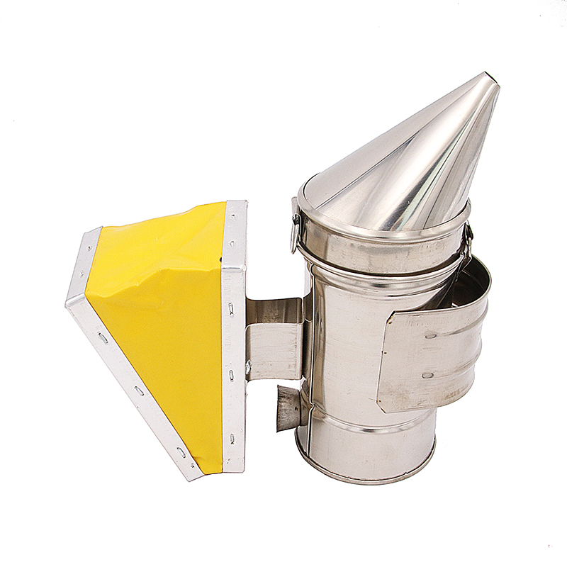 DLKKLB 1 Pc Beekeeping Equipment Bee Hive Smoker Mini Size Cute Stainless Steel Easy To Carry Beekeeping Tool EquipmentDLKKLB 1 Pc Beekeeping Equipment Bee Hive Smoker Mini Size Cute Stainless Steel Easy To Carry Beekeeping Tool Equipment