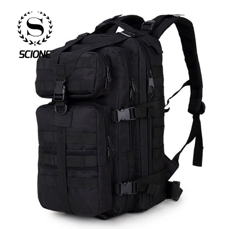 Scione Men Military Backpack Mochilas Camouflage Travel Backpack For Men Bag 35 L Trekking Bag Waterproof Climbing Backpack