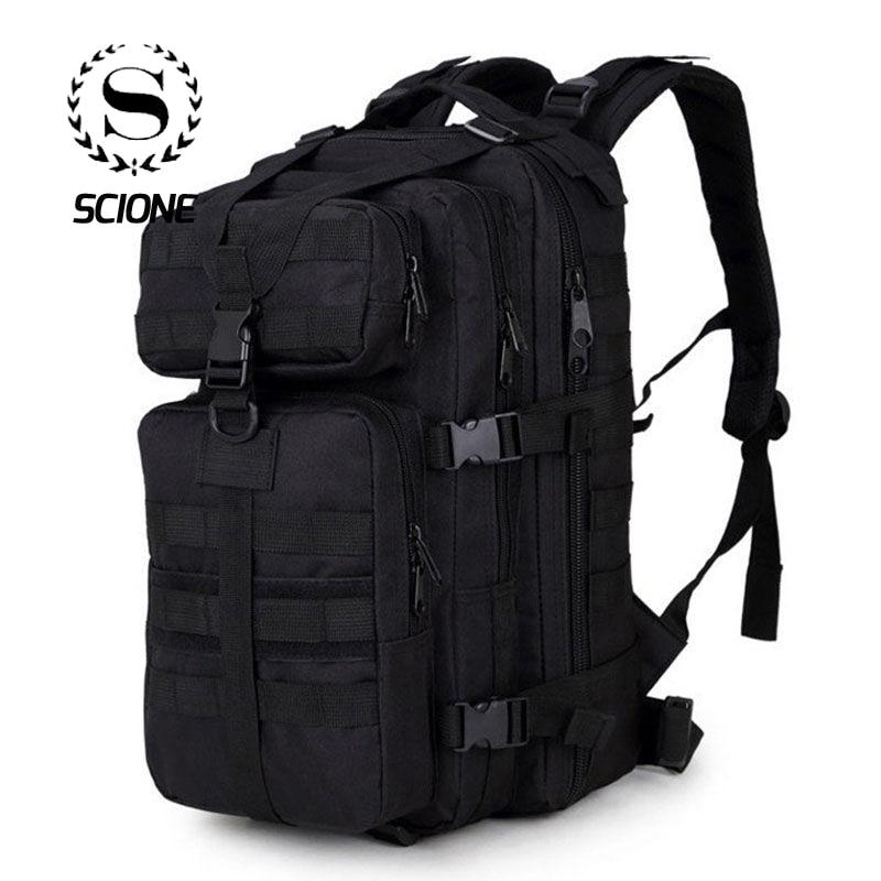 Scione hommes militaire sac à dos Mochilas Camouflage voyage sac à dos pour hommes sac 35 L Trekking sac étanche escalade sac
