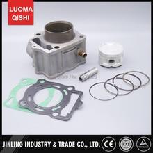 Conjunto de Anillo de Pistón Del Cilindro Del Motor refrigerado por Agua 250cc Loncin LC172MMP Aptos Para la EEB Mikilon Jinling 250cc JLA-21B JLA-923 Quad