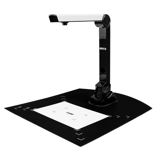 Tốc độ cao 500 Wát Pixels A4 Tài Liệu Giấy Chứng Nhận Scanner Với Gấp Máy Ảnh Và Ghi Video