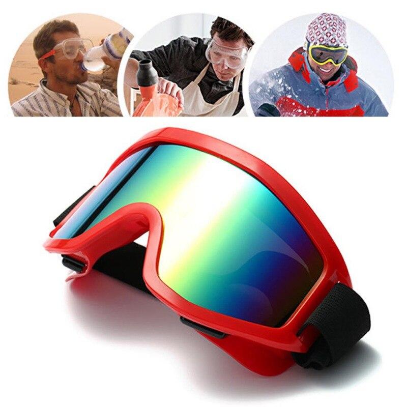 Outdoor Windproof Skiing Glasses UV400 Dustproof Snow Can Built-in Myopia Lens Spone Skiing Goggles 10 Colors