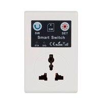 Newest EU UK 220V Phone RC Remote Wireless Control Smart Switch GSM Socket Power Plug For