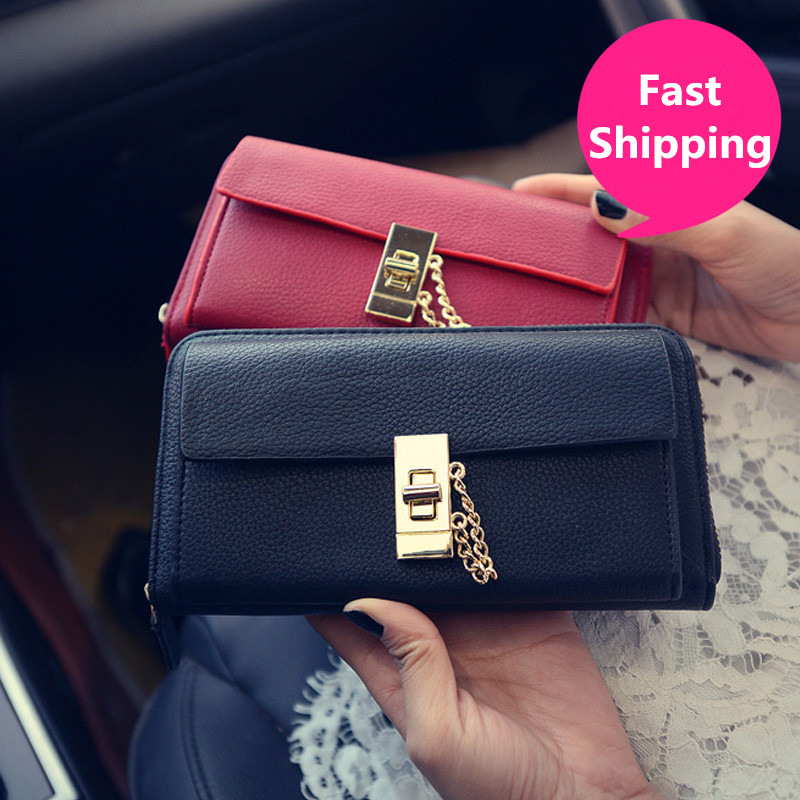 Women Wallets Brand Design High Quality Leather Wallet Coin Purses Lady Card&ID Holders Money Bags High Quality Purse For Women