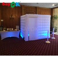 Бесплатная доставка 17 цветов надувные светодиодные палатки для свадьбы/вечерние/события надувные фотостудии киоски б/у Ткань Оксфорд для п