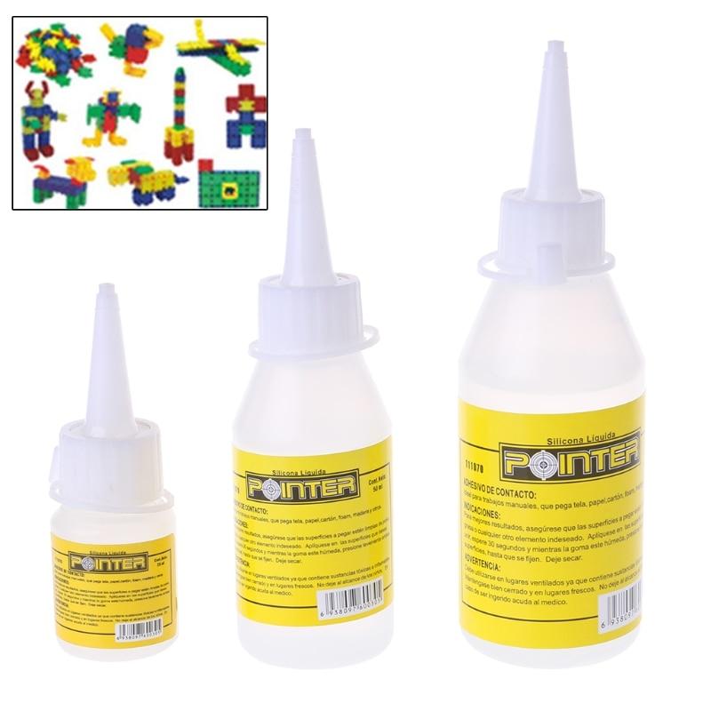 Three Type  Liquid Glue Alcohol Adhesive Textile Fabric Stationery Scrapbooking-washi Tape