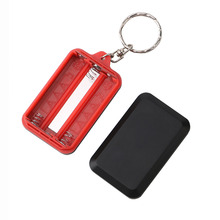 Mini LED Flashlight Keychain Portable Keyring Light Torch Key Chain 45LM 3 Modes Emergency Camping Lamp backpack light