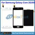 """Qualidade Top 4.5 """"para samsung galaxy core 2 b0511 g355h g355 sensor de toque digitador da tela + display lcd de tela peças de reposição"""