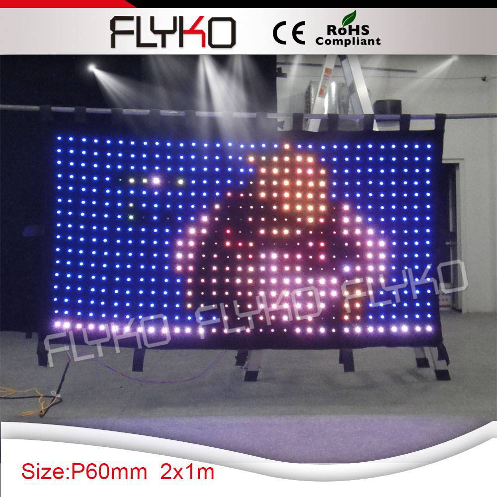 US $850 0 |Free Shipping pixelflex led curtain price led video curtain-in  Stage Lighting Effect from Lights & Lighting on Aliexpress com | Alibaba