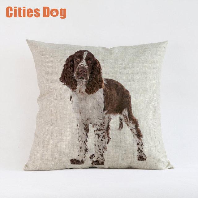 Animal Dog English Springer Spaniel Model Style Fashion Cushion