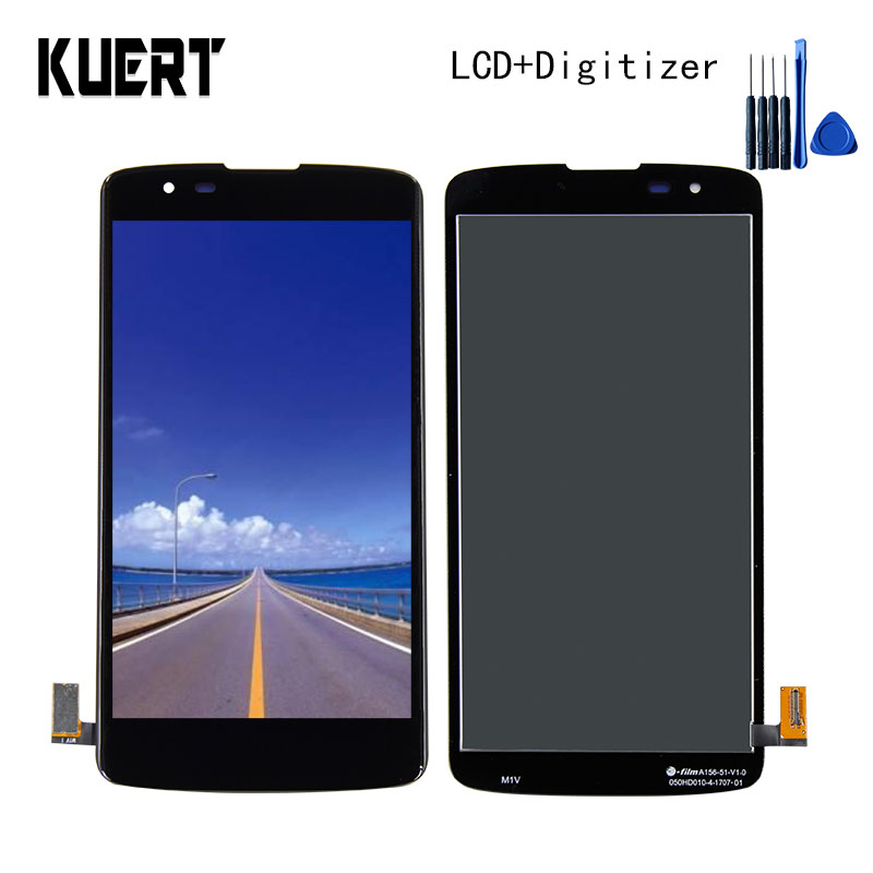 KUERT High Quality 5.0 For K8 LTE K350N K350E K350DS Touch Screen Digitizer 1280x720 LCD Display Assembly Free shipping