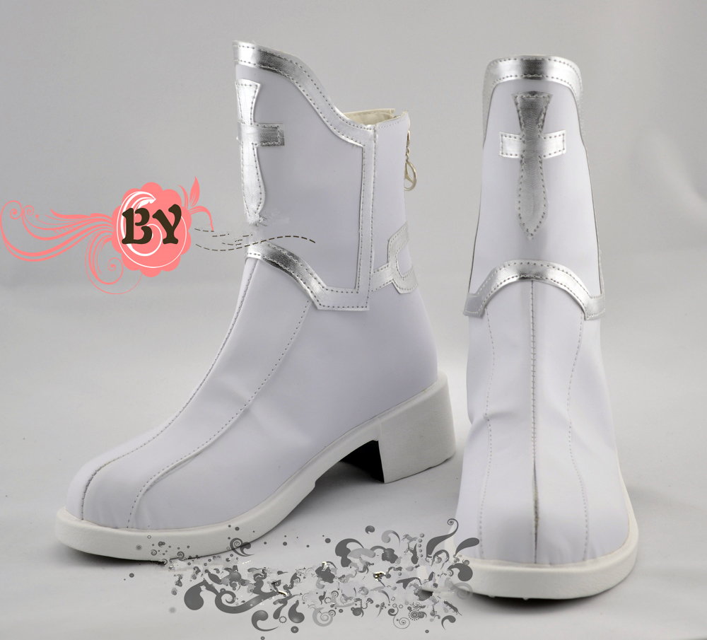 Sword Art Online Asuna Yuuki Cosplay Shoes