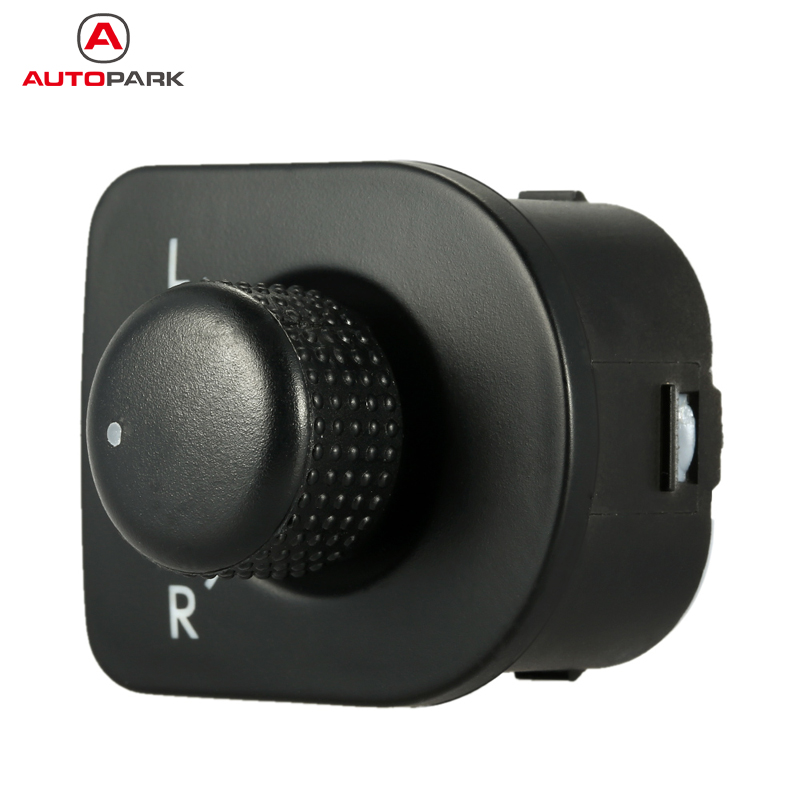 Car Left Driving Side LDS Mirror Knob Switch Window Heat Control for VW Golf B5 GTI Beetle Jetta MK4