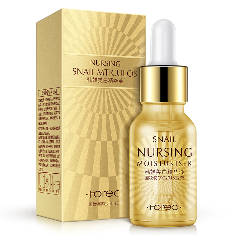 HOREC Collagen Serum Whitening Essence liquid Face Moisturizing Anti Aging Anti Wrinkle Day Cream Skin Beauty Facial Care Serum