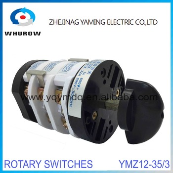 Rotary switch 3 position YMZ12-353 tire changer switch car tire machine tool accessory universal electrical changeover switch machine tool