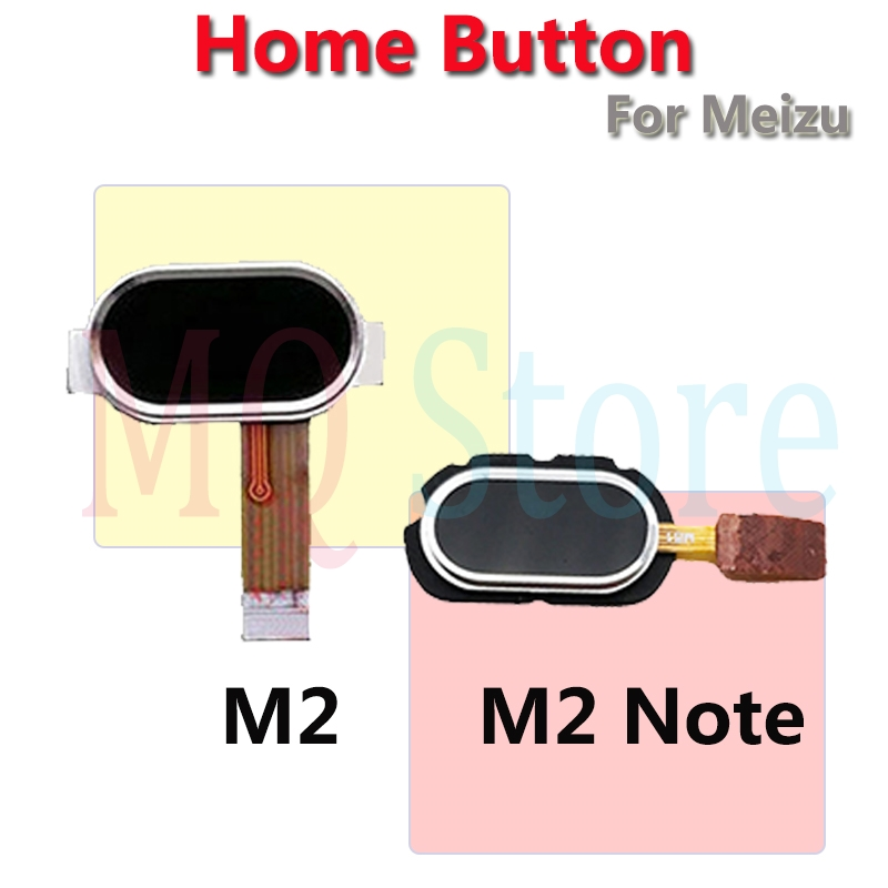 For Meizu M2 Note M2 Original Home Key Fingerprint Return Button Touch ID Sensor Ribbon Flex Cable Mobile Phone Repair Parts