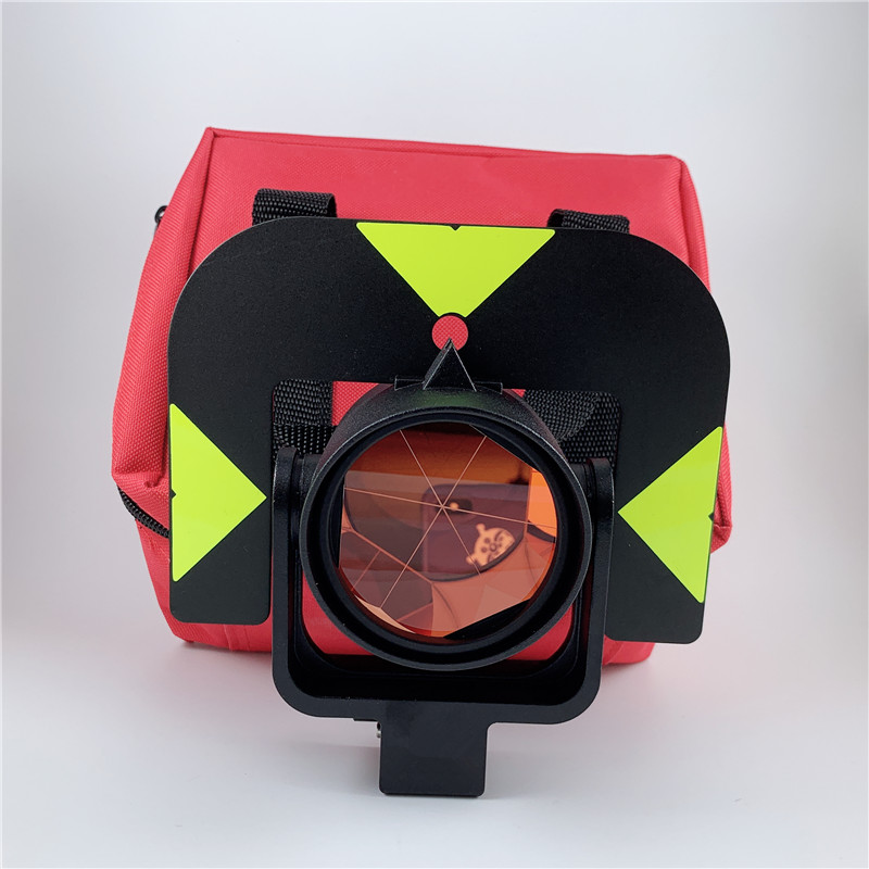 New All metal high quality single prism sets for Leica total station GPR121 PRISM SURVEYING