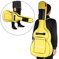 """ammoon 600D 40"""" 41"""" Guitar Bag Backpack Gig Bag Case Cover Double Straps 5mm Padded Double Zipper Non-slip Pads Bottom"""
