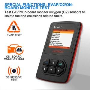 Image 4 - Launch X431 Creader V+OBD OBD2 skaner samochodowy, czytnik kodów błędu, wielojęzyczne menu, narzędzie diagnostyczne auta, auto skanowanie