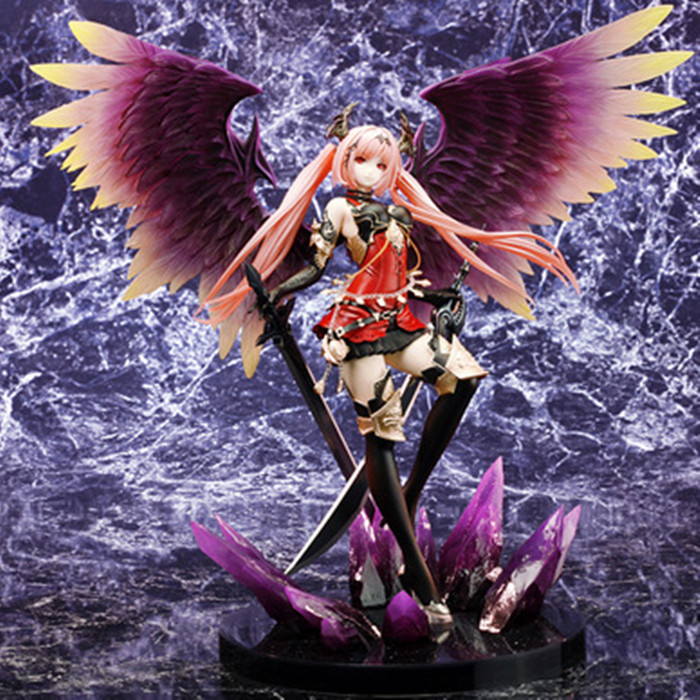 Pop Game Anime Kotobukiya Rage Of Bahamut Dark Angel Olivia Ani Statue 29CM PVC Action Figure Toy New Loose KA0351A pop game anime kotobukiya rage of bahamut dark angel olivia ani statue 29cm pvc action figure toy new loose ka0351