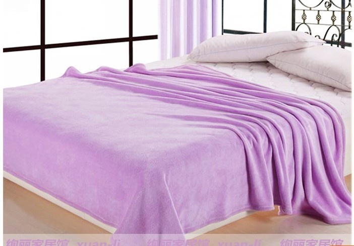 ФОТО Coral fleece blanket sheet thick blanket single leisure blankets thick warm bed super soft free shipping