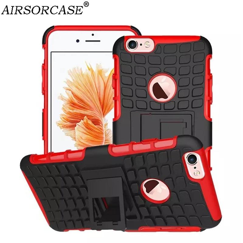 ΞPour iPhone 6 Plus 6 S Plus Cas Qualité PC et TPU hybride Robuste ... 7ca91d8ef41