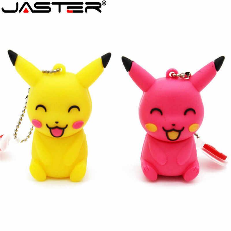 Jaster De Nieuwe Leuke Pikachu Usb Flash Drive Usb 2.0 Elf Bal Pen Drive Minions Memory Stick Pendrive 4Gb 8Gb 16Gb 32Gb 64Gb Gift