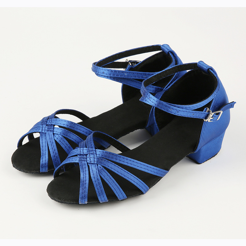 a10278485 Women/Girls Latin Ballroom Dance Shoes Kids Salsa Shoes Rumba ChaCha Samba  Modern Dance Shoes Low Heel 3.5cm Soft Sole VA30148-in Dance shoes from  Sports ...