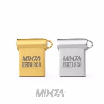MIXZA QS-Q1 Mini USB Flash Drive USB Pendrive 4GB/8GB/16GB/32GB/64GB Flash Drive USB Stick USB 2.0