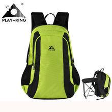 цена на 2016Folding Chair Backpack Fishing Chair Outdoor Camping Portable Travel Folding Stool  Chair Bag Cycling Beach Trekking f